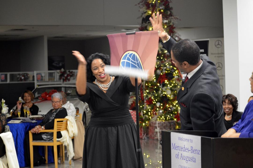 Club of Month-January The Masters Toastmasters Group