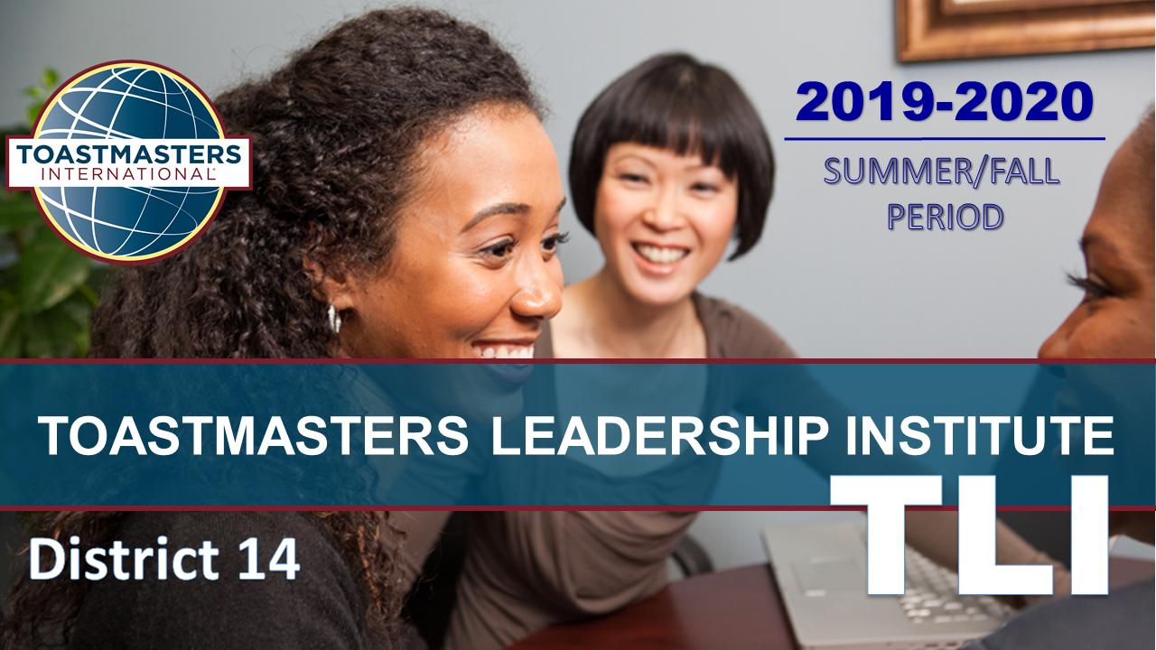 Toastmasters Leadership Institute (TLI)